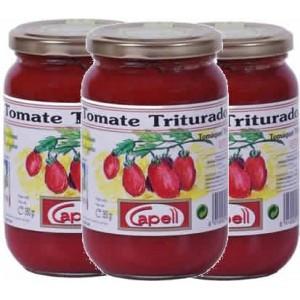Tomate Triturado en Bote BIO - Capell - 350 gr - Pack Ahorro 3 unidades