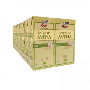 Bebida de Avena bio - La Finestra sul cielo - 1 L. Pack Ahorro de 12 unidades